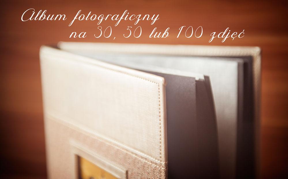 Elegancki album fotograficzny na 30, 50 lub 100 zdjęć