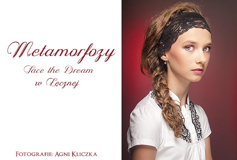 Metamorfoza nr 27, Modelka: Natalia Szewczak, Wizaż: Ilona Szalak.