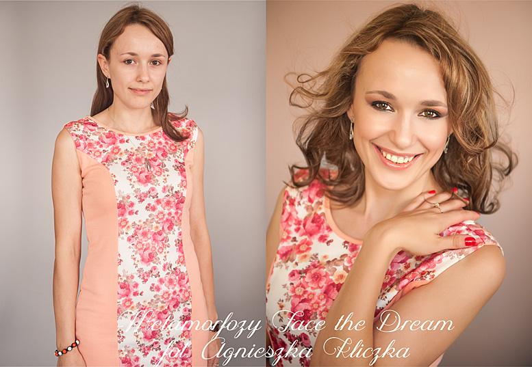 Metamorfoza nr 22, Modelka: Katarzyna Rejzner, Wizaż: Katarzyna Biernat-Rylska.