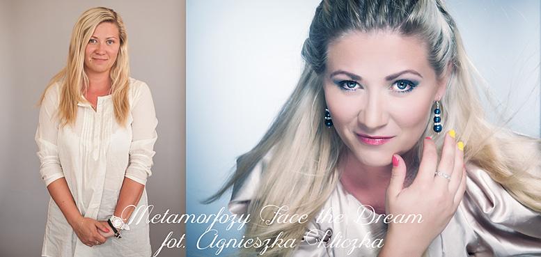 Metamorfoza nr  11, Modelka: Katarzyna Oleszek, Wizaż: Anna Skoczylas.