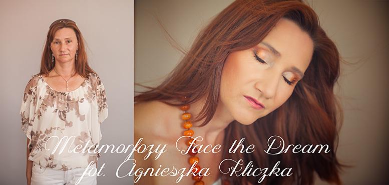 Metamorfoza nr  12 Modelka: Katarzyna Kuszyk, Wizaż: Ilona Szalak.