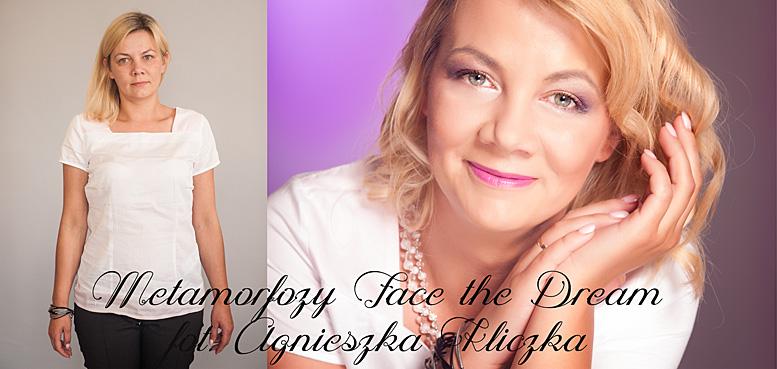 Metamorfoza nr  19, Modelka: Agnieszka Zawada, Wizaż: Ilona Szalak,