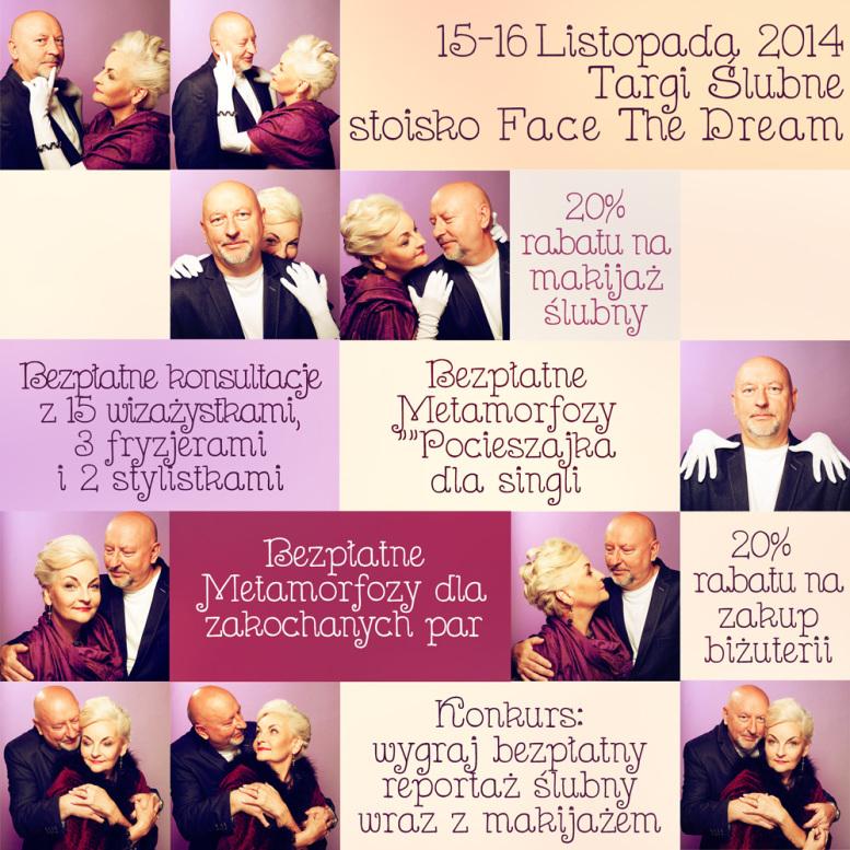15-16 Listopada 2014 Targi Ślubne stoisko firmy Face The Dream